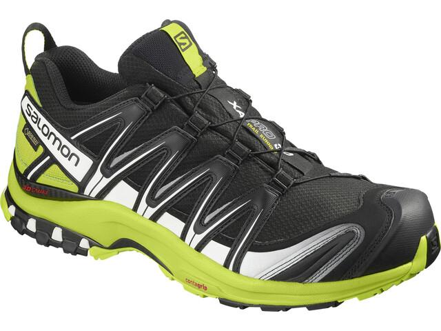 Salomon XA Pro 3D GTX Trailrunning Schuhe Herren black/lime green/white